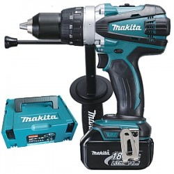 Makita DHP458RFJ klopboormachine 18V 3.0Ah + M-Box
