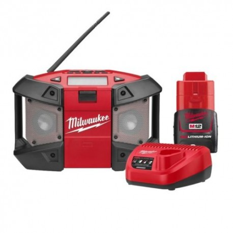 Milwaukee C12JSR Bouwradio set 12V 2.0Ah
