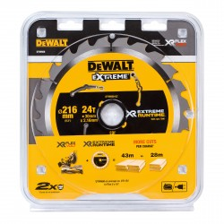 Dewalt DT99568 216x30mm 24 tands