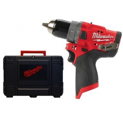 Milwaukee M12 FPD-0 body + koffer