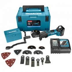 Makita DTM51RT1J3 18V Li-Ion Accu multitool set (1x 5.0Ah accu)