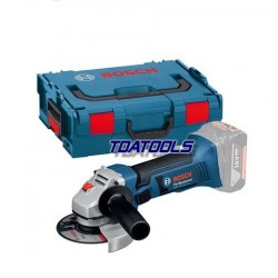 Bosch GWS 18-125 V-Li Body + L-Box