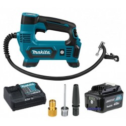 Makita MP100DZ4-set luchtpomp set 4.0Ah