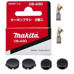 Makita CB430 koolborstels complete set