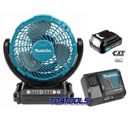 Makita CF101DZ set Ventilator 12V 2,0Ah