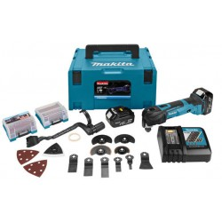 Makita DTM51RTJX3 multitool 18V 5.0Ah