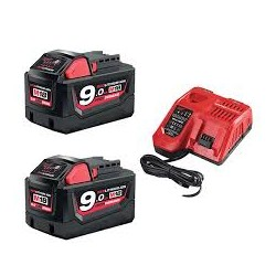 MILWAUKEE M18 NRG-902 ACCU PACK NRG 18V 9.0AH LI-ION M18™ - 4933451422